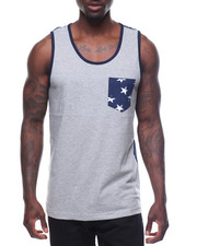 Men - Americana Pocket Tank