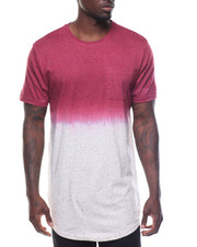 Men - S/S Dip Dye Speckle Tee