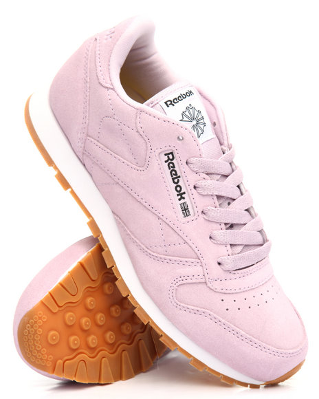 Reebok - CLASSIC LEATHER PASTEL SNEAKERS (3.5-7)