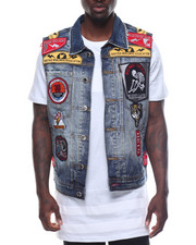 Heritage America - Patch Denim Vest