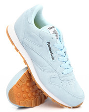 Grade School (5 yrs+) - CLASSIC LEATHER PASTEL SNEAKERS (3.5-7)