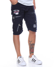 Men - League Patch Denim Short