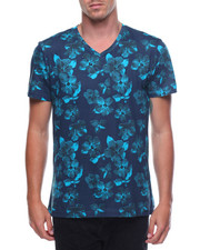 Buyers Picks - S/S Floral V Neck Tee