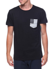 Buyers Picks - S/S Flag Pocket Tee