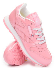 Girls - CLASSIC LEATHER METALLIC PS SNEAKERS (11-3)