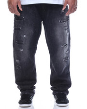 Southpole - Ripped Denim Jean With Backing (B&T)