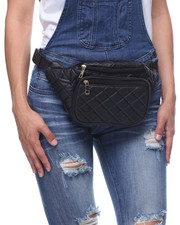 DRJ Accessories Shoppe - Quilted Pu Fannypack
