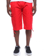 Buyers Picks - Belted Multi Pockets Cargo Short