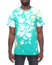 Buyers Picks - S/S Tie Dye Bleached Tee