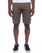 Men - Solid Cargo Shorts