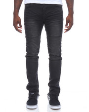 Men - Knee Trim Stretch Denim