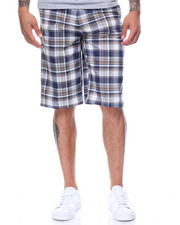 Basic Essentials - Plaid Woven Shorts