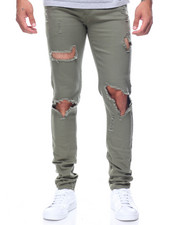 Jeans - Blow Out Knee Denim