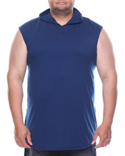Shirts - Hooded Tank Top With Side Zipper (B&T)