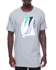 Men - Short Sleeve Nautica Sail Racing Tee