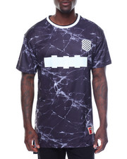 Men - S/S Marble Washed Athletic Tee