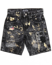 Bottoms - 4th Coming Denim Shorts (4-7)