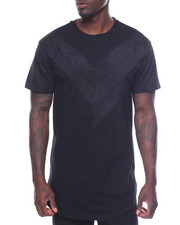 Shirts - Mesh V-paneled Trim Tee