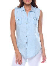 Women - S/L Denim Shirt