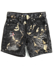 Sizes 2T-4T - Toddler - 4th Coming Denim Shorts (2T-4T)