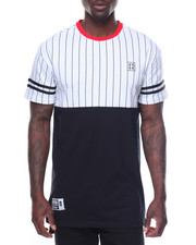 Men - Pinstripe Baseball Tee