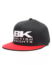 Men - Bk Snapback Hat