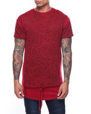 Shirts - S/S Melange Print Pkt.