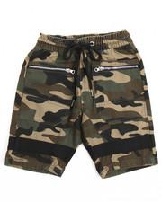 Shorts - Zip Trim Twill Jogger Shorts (8-20)