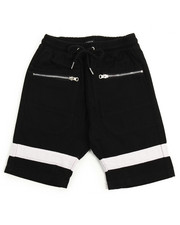 Sizes 8-20 - Big Kids - Twill Shorts With Silver Zippers (8-20)