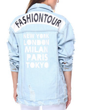 Women - Fashion Tour Dstrctd Denim Jkt
