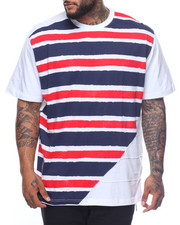 Shirts - S/S Striped Tee (B&T)