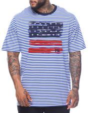 Men - S/S  Stripe Tee (B&T)