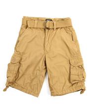 Shorts - Premium Washed Cargo Shorts (8-20)