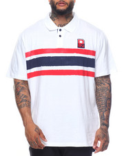 Shirts - S/S  Printed Logo Polo (B&T)