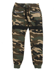 Pants - Camouflage Twill Jogger Pants (8-20)