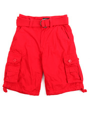 Shorts - Premium Washed Cargo Shorts (8-20)