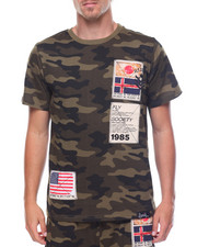 Shirts - Camo Patch Tee