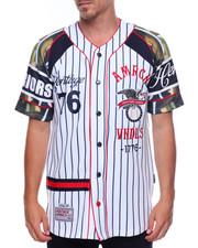 Men - Patch Baseball Jersey
