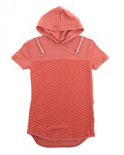 Arcade Styles - Hooded Quilted Shirt (8-20)