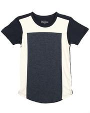 T-Shirts - S/S Crew Neck Colorblock Tee (8-20)