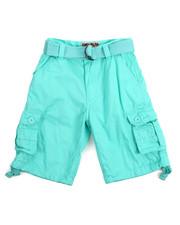 Bottoms - Premium Washed Cargo Shorts (8-20)