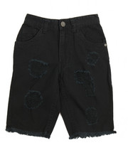 Shorts - Distressed Twill Shorts (8-20)