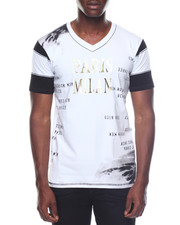 Men - Fitted V-neck S/S Tee