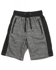 Shorts - Marled French Terry Short (8-20)