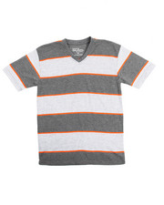 Arcade Styles - S/S Stripe V-Neck Tee (8-20)