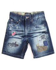Boys - 4th Coming Denim Shorts (4-7)