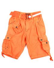 Boys - Belted Cargo Shorts (8-20)