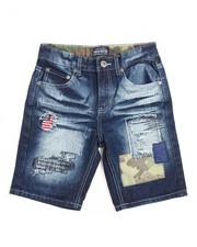 Bottoms - 4th Coming Denim Shorts (8-20)