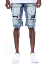 Heritage America - Distressed Denim Shorts