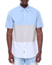 Enyce - S/S Tricolor Button-down
